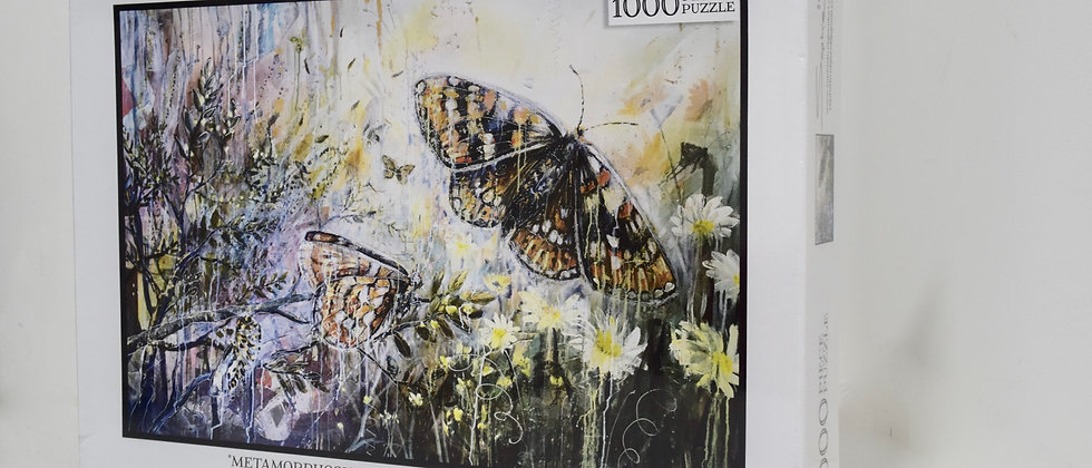 "Jigsaw Puzzle 1000 Piece ""Metamorphosis"""