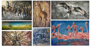 Solo art exhibition 2018 summary