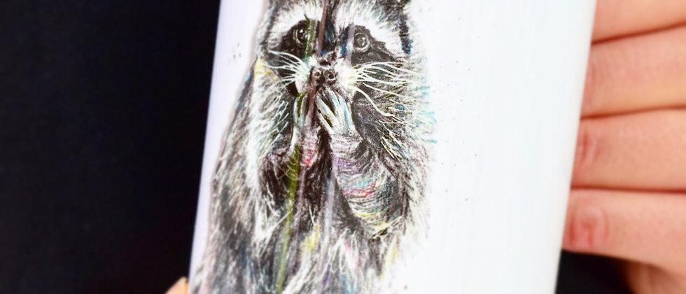 """""""Raccoon"""" Ceramic Mug"""