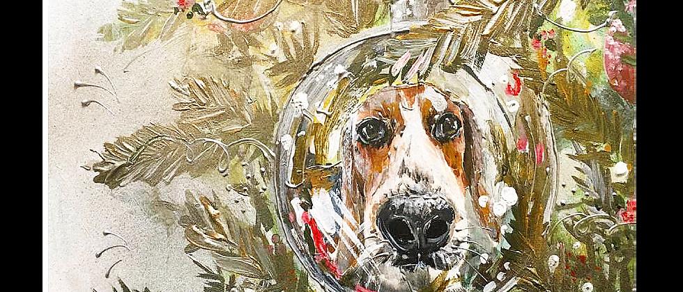 Pet portrait - Mixed Media
