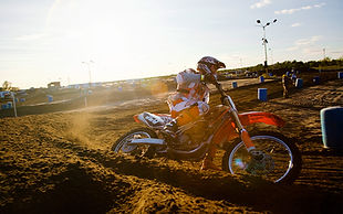 KTM 250R dirtbike racing