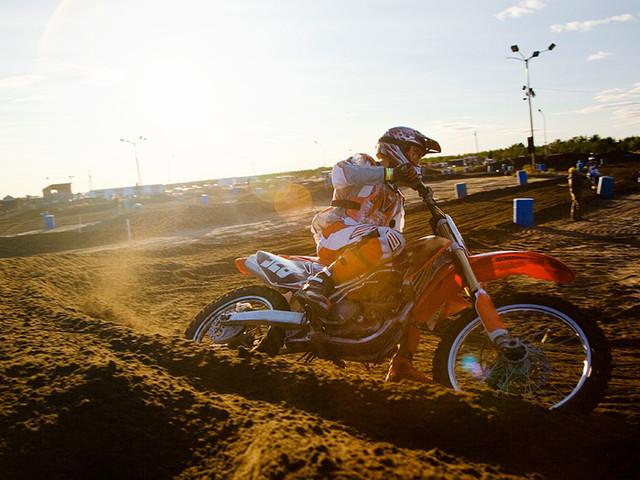 Carrera de motocross