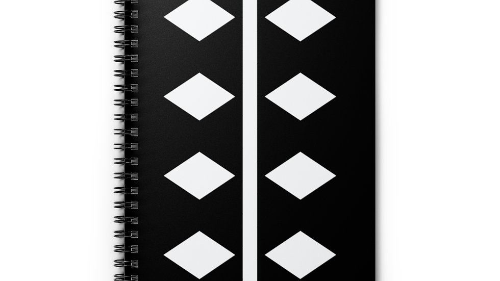 Diamonds Spiral Notebook - Ruled Line