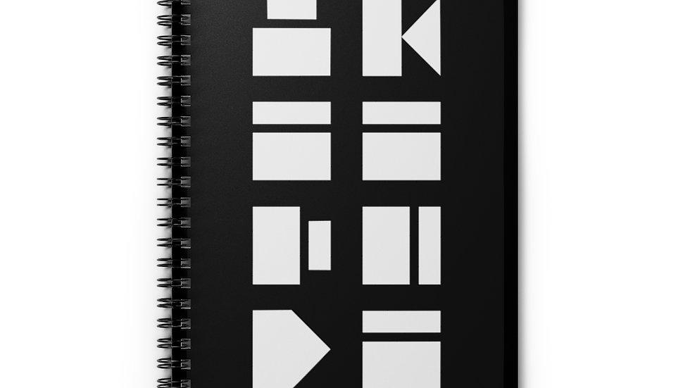 Blocks Spiral Notebook - Ruled Line