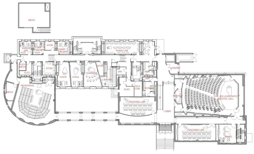 Cali School of Music (Plan)