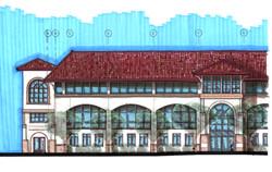 Schmitt Hall Rendering