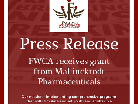 FWCA receives grant from Mallinckrodt Pharmaceuticals