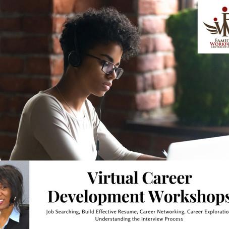 Virtual Career Development Workshops