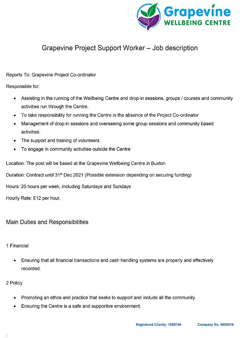 RC Project Worker- Job Description Feb 2