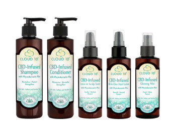 Cloud 10 Launches CBD-Infused Hair Care Products