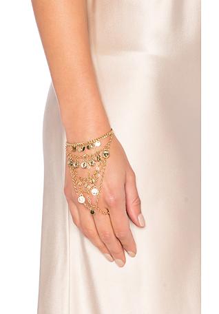Coin Hand Chain