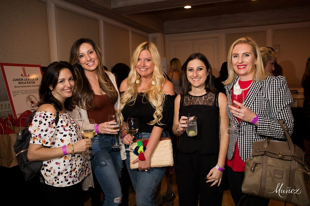 Dana Peller - Pellerini, Lindsey Swing - LLScene, Lilly Robbins - LLScene, Marisa Herman - Boca Raton Newspaper, Heather McMechan - Local Mom Scoop