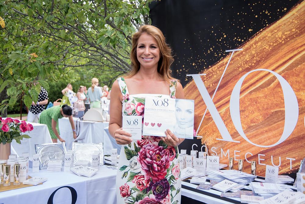 Bravo's Jill Zarin with XO8 Cosmeceuticals