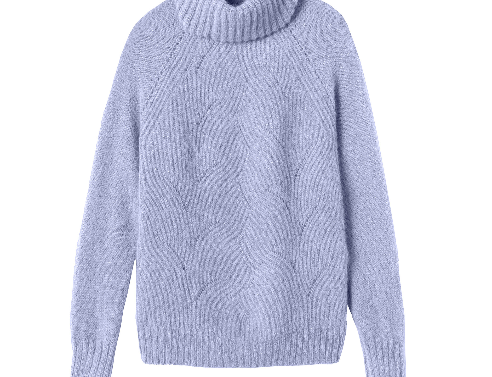 Rebecca Taylor's Pointelle Turleneck Pullover