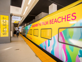 "Discover The Palm Beaches""Super"" Co-Branded Event with Lilly Pulitzer and Brightline for Super Bowl"