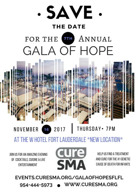 Cure SMA : Gala of Hope