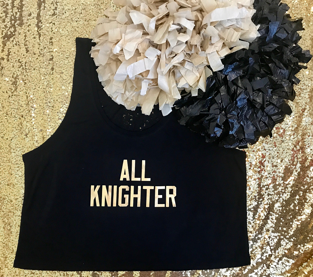 All Knighter Crop Top