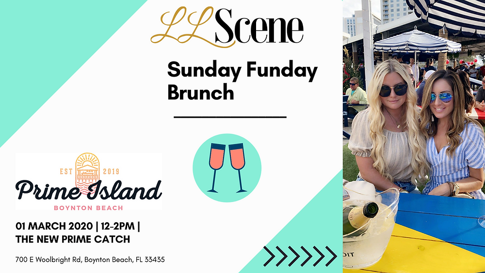 Sunday Funday with LLScene at Prime Catch