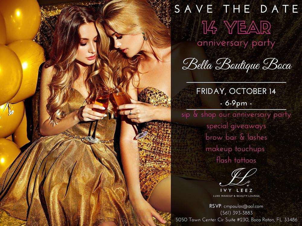 Bella Boutique Anniversary Party