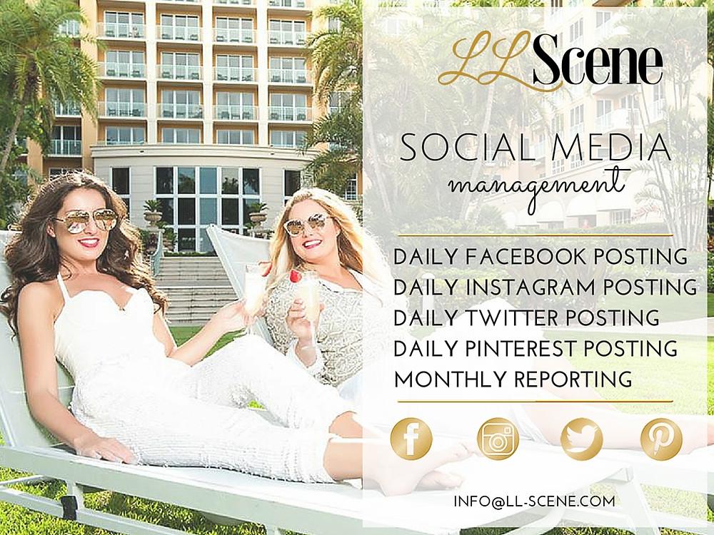 LLScene Social Media Management