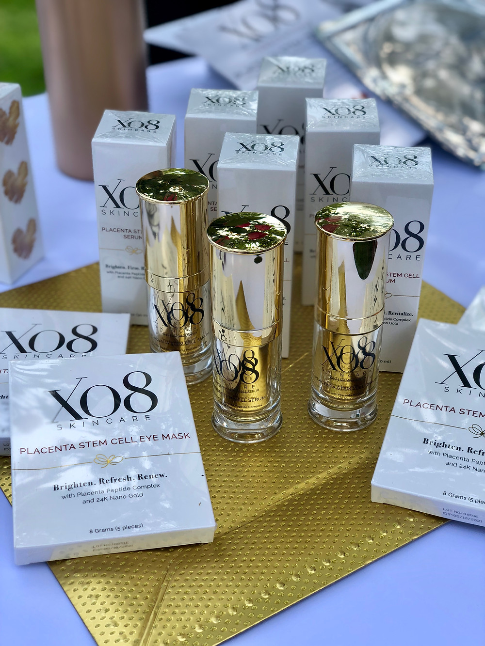 XO8 Cosmeceuticals Launches Retail Collection, XO8 Skincare at Jill Zarin's 6th Annual Luxury Luncheon