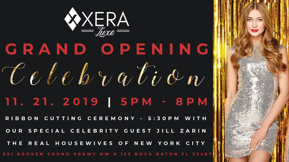 The Grand Opening of Xera Luxe Medical Spa in Boca Raton
