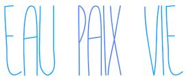 Eau Pax Vie