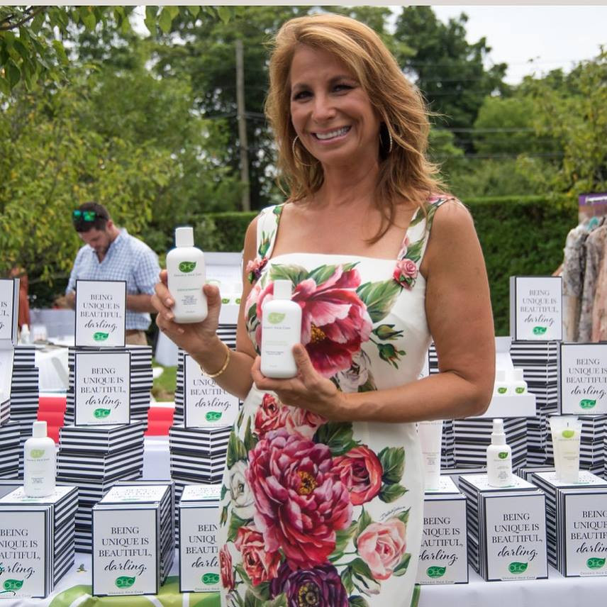 Jill Zarin with Organic Hair Care Inc.