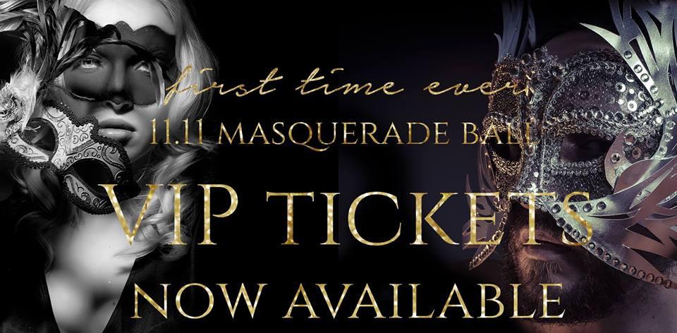 Eleven Salon & Spa's Masquerade Party!