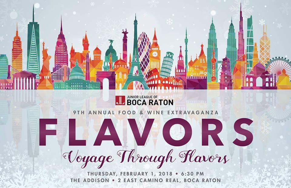 Boca Raton's Own Food & Wine Festival - FLAVORS 2018