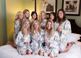 Pretty Plum Sugar - Bridesmaid Robes
