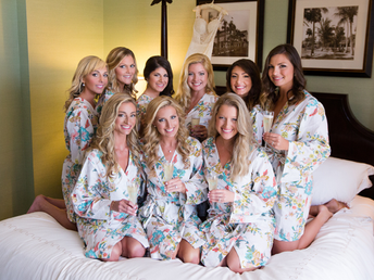 Pretty Plum Sugar - Bridesmaid Robes