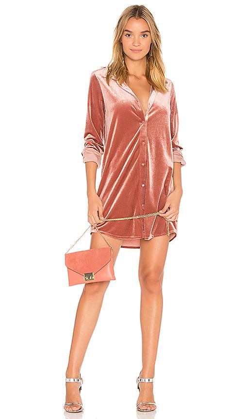 Vella Mini Velvet Dress