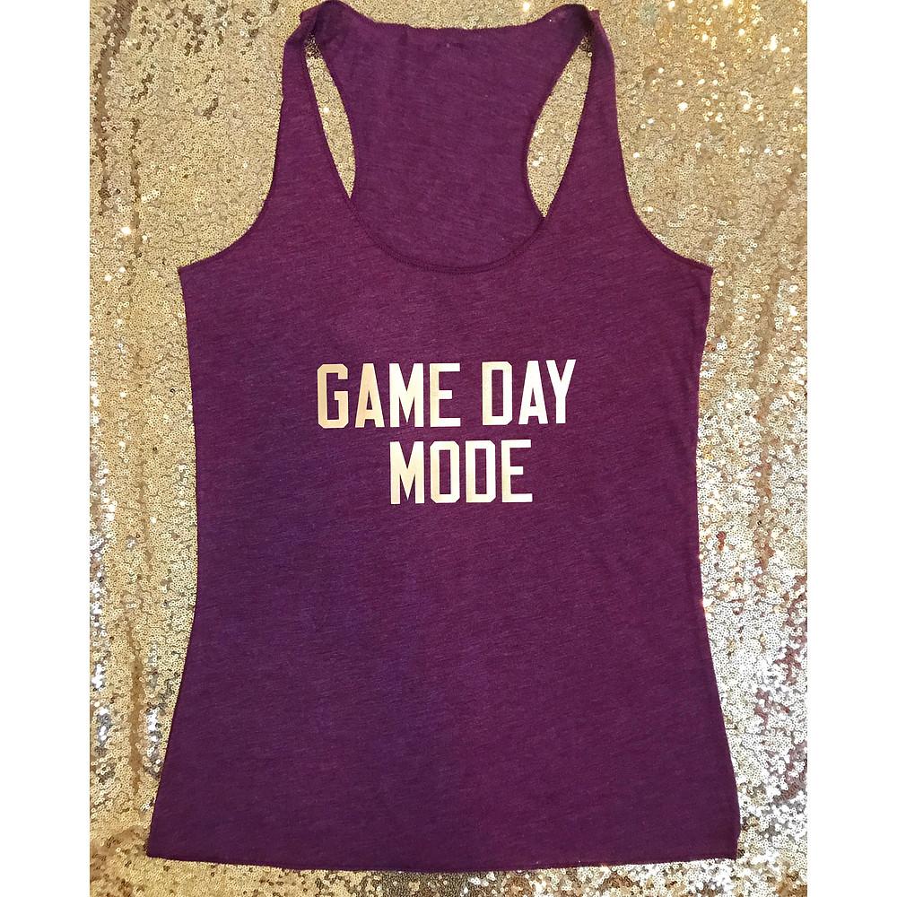 Game Day Mode Tank
