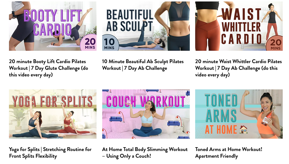 Five At-Home Workouts You Can't Live Without