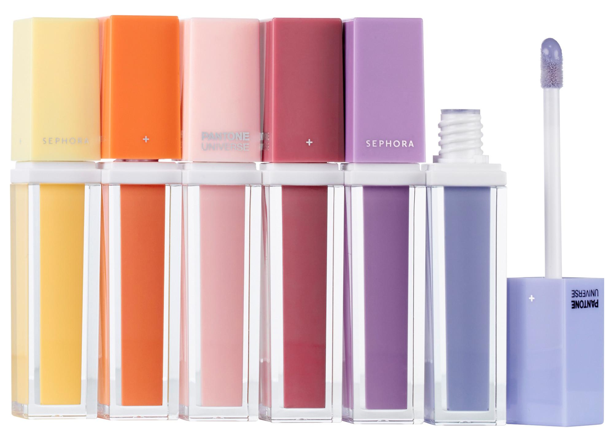 Sephora Lip Gloss Pantone Colors