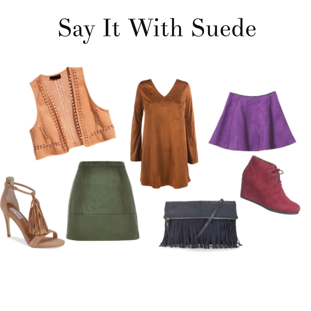 Say It With Suede