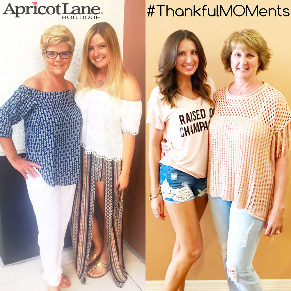 #ThankfulMOMents with Apricot Lane