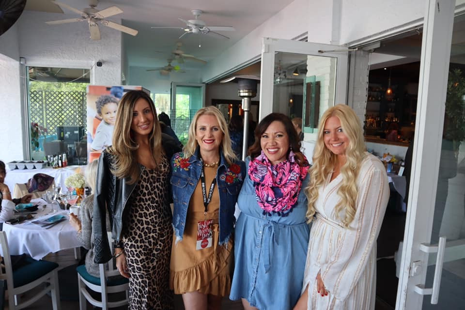 Lindsey Swing - LLScene, Heather McMechan - Local Mom Scoop, Angela Cruz - Beauty News with Angela Cruz, Lilly Robbins - LLScene