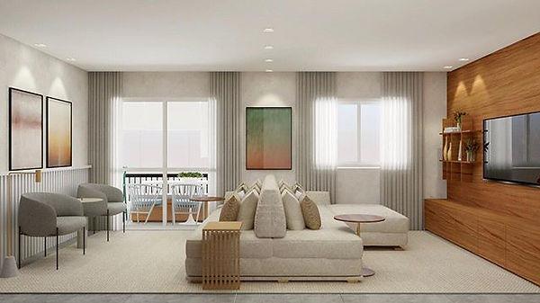 Projeto 3d apartamento decorado. Por que