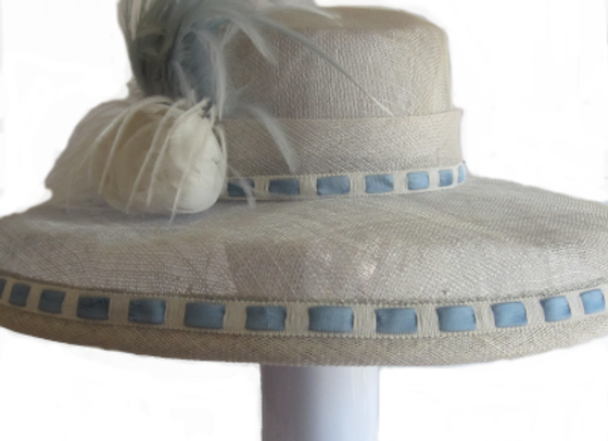 Georgia (Light Blue Derby Hat)
