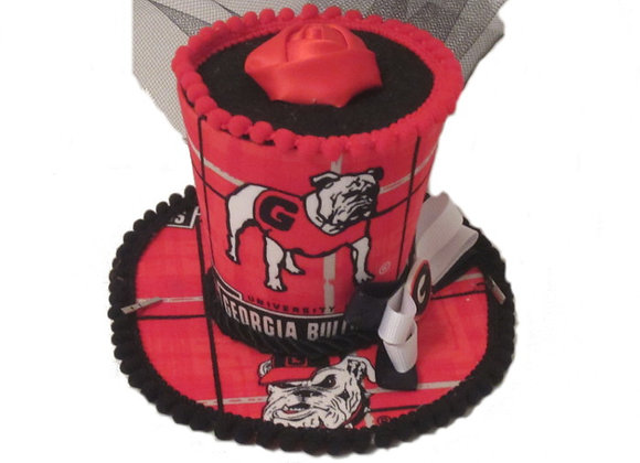 Georgia Bulldogs Mini Top Hat