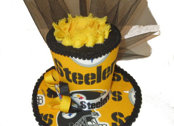 Pittsburgh Steelers Mini Top Hat