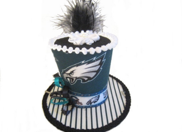 Philadelphia Eagles Mini Top Hat