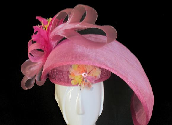 Daphne (Mauve Derby Hat)