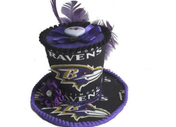 Baltimore Ravens Mini Top Hat