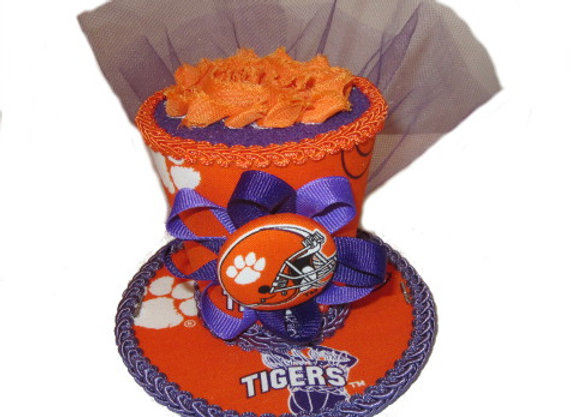 Clemson Tigers Mini Top Hat