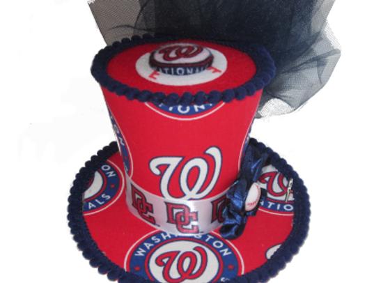 Washington Nationals Mini Top Hat