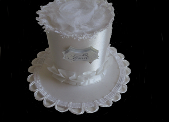 Bridal Shower Mini Top Hat