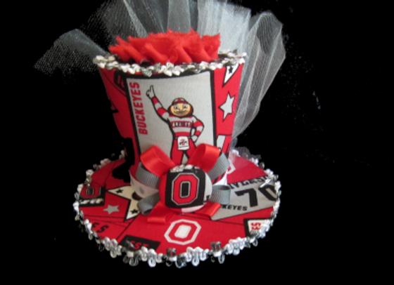 Ohio State Buckeyes Mini Top Hat